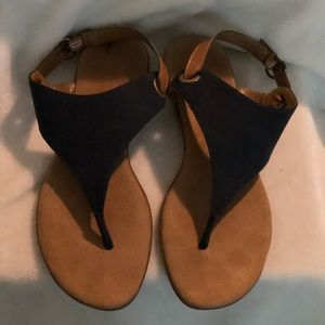 Blue and Brown Aerosoles Sandals